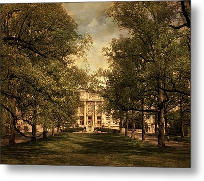 A Formal Passage Metal Print by Jessica Jenney