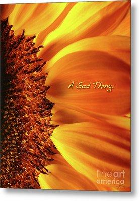 A God Thing-2 Metal Print by Shevon Johnson