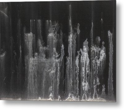 A Hard Water's Gonna Spray #5 Metal Print by Stan  Magnan