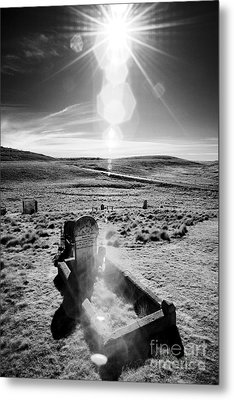 A Harsh Land Metal Print by Russ Brown