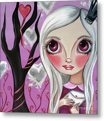 A Letter From My Valentine Metal Print by Jaz Higgins