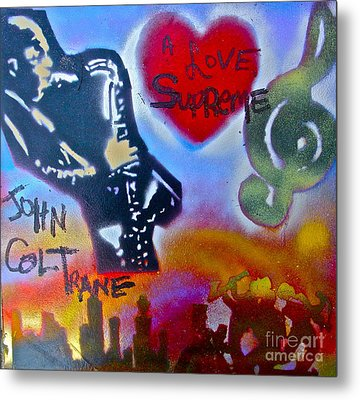 A Love Supreme Metal Print by Tony B Conscious
