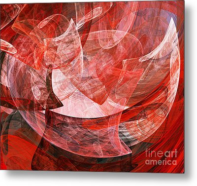 A Mothers Womb . A120422.446 Metal Print by Home Decor