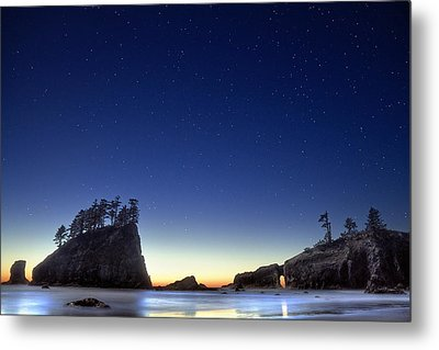 A Night For Stargazing Metal Print by William Lee