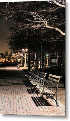A Night In Hoboken Metal Print by JC Findley