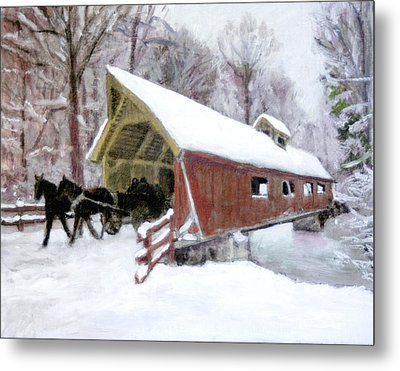 A Passion For Life Metal Print by David Zimmerman