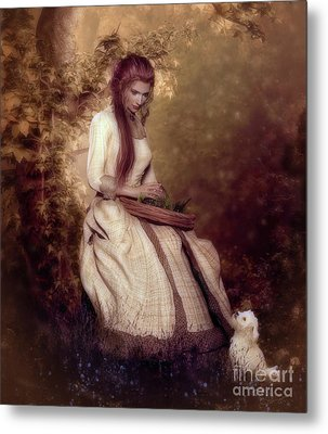 Lost In Thought Metal Print by Shanina Conway