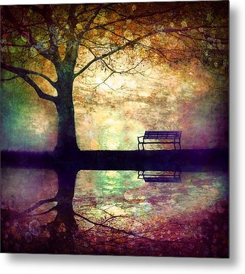 A Place To Rest In The Dark Metal Print by Tara Turner