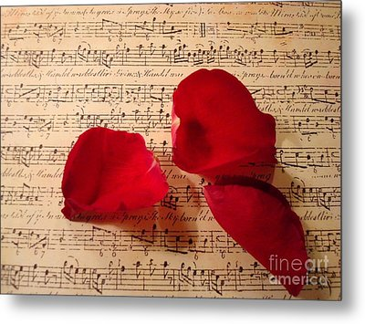 A Romantic Note Metal Print by Kathy Bucari