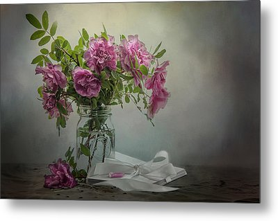 A Rose By Any Other Name Metal Print by Maggie Terlecki