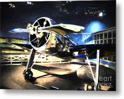 A Shining Example Metal Print by Mel Steinhauer