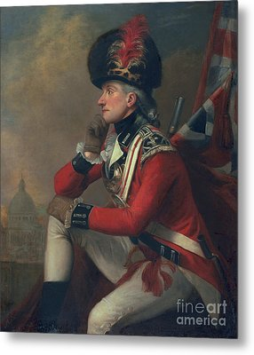 A Soldier Called Major John Andre Metal Print by English School