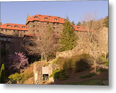 A Spring Evening At The Grove Park Inn Metal Print by MM Anderson
