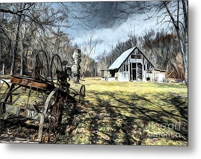 A Spring Time Story # 2 Metal Print by Mel Steinhauer