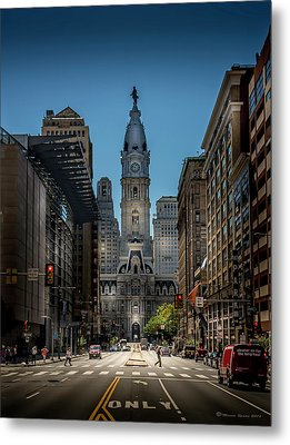 A Step Above  Metal Print by Marvin Spates