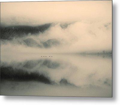 A Study Of Clouds Metal Print by Tara Turner