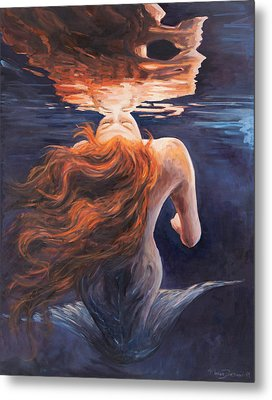 A Trick Of The Light - Love Is Illusion Metal Print by Marco Busoni