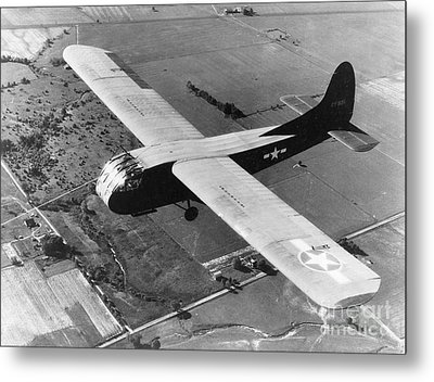 A U.s. Army Air Force Waco Cg-4a Glider Metal Print by Stocktrek Images