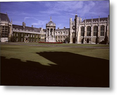 A View Of The Courtyard Of Trinity Metal Print by Taylor S. Kennedy