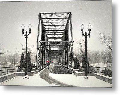 A Walk Through Time Metal Print by Lori Deiter