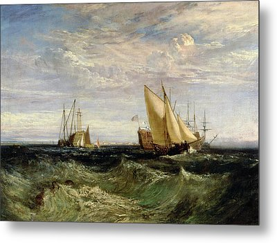 A Windy Day Metal Print by Joseph Mallord William Turner