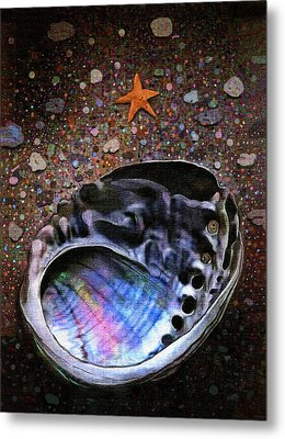 Abalone Metal Print by Robert Foster