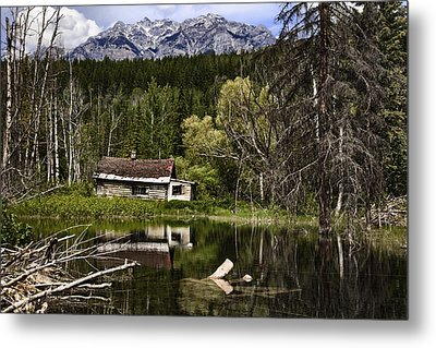 Abandoned IIi Metal Print by Monte Arnold