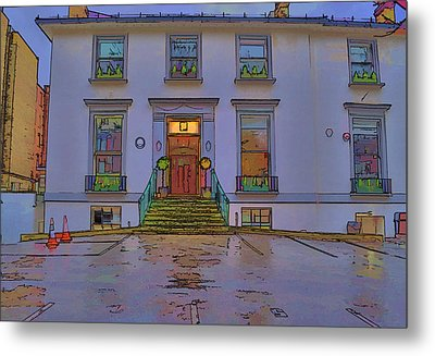 Abbey Road Recording Studios Metal Print by Chris Thaxter