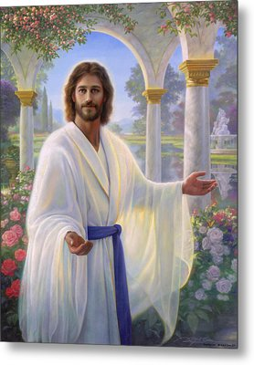 Abide With Me Metal Print by Greg Olsen