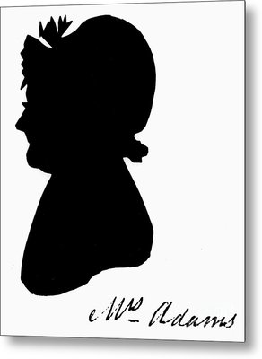 Abigail Adams Metal Print by The Granger Collection