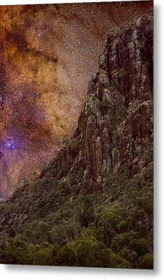Aboriginal Dreamtime Metal Print by Charles Warren