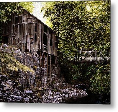Above Cedar Creek Metal Print by Craig Shillam