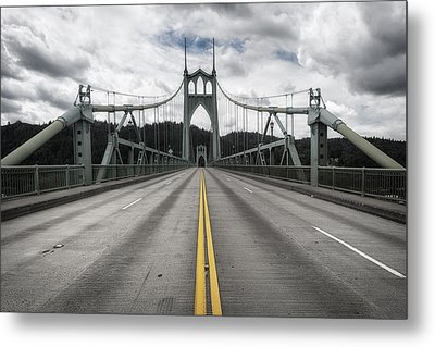 Above The Cathedral Metal Print by Ryan Manuel