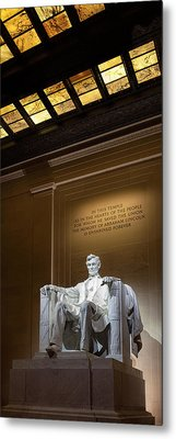 Abraham Lincoln Metal Print by Andrew Soundarajan