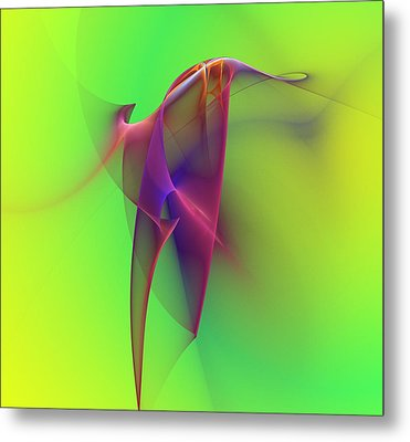 Abstract 091610 Metal Print by David Lane