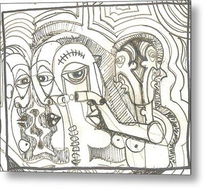 Abstract 20 Metal Print by Robert Wolverton Jr