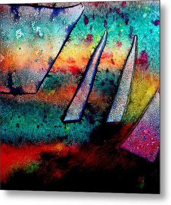 Abstract 32 Metal Print by John  Nolan