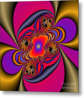Abstract 46 Metal Print by Rolf Bertram