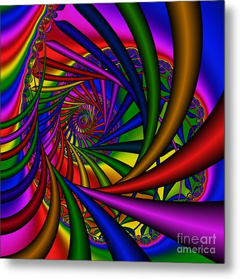 Abstract 532 Metal Print by Rolf Bertram