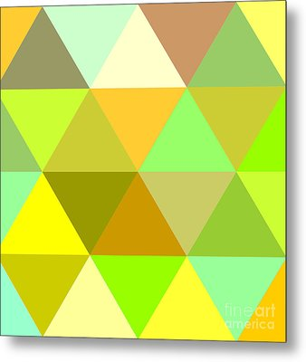 Abstract Colors  Metal Print by Celestial Images