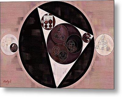 Abstract Painting - Dust Storm Metal Print by Vitaliy Gladkiy