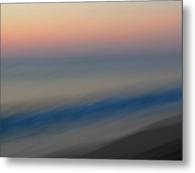 Abstract Seascape 1 Metal Print by Juergen Roth