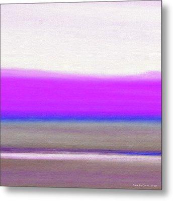 Abstract Sunset 65 Metal Print by Gina De Gorna