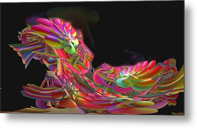 Abstract49 Metal Print by Julie Grace