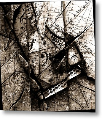 Abstracta 27 The Grand Illusion  Metal Print by Gary Bodnar