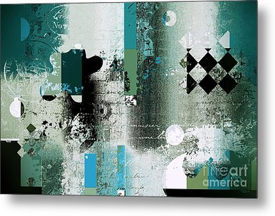 Abstracture - 21pp8bb Metal Print by Variance Collections