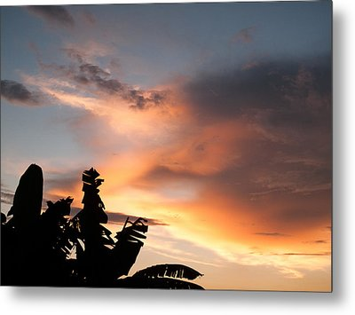 Abuja Sunset Metal Print by Hakon Soreide