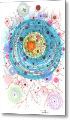 Accretion Metal Print by Regina Valluzzi