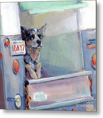Acd Delivery Boy Metal Print by Kimberly Santini