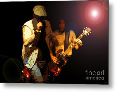 Acdc Metal Print by David Lee Thompson